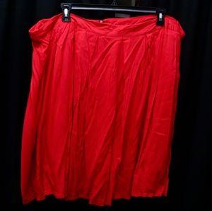 Dresses & Skirts - Red Mid Maxi Skirt